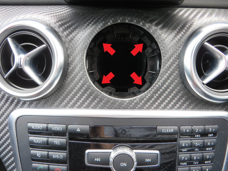 エアコンルーバーの外し方ときしみ音・ビビり音対策