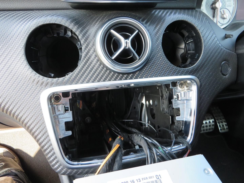 コマンドコントロールシステムユニットの外し方とフレームからのきしみ音・ビビり音対策