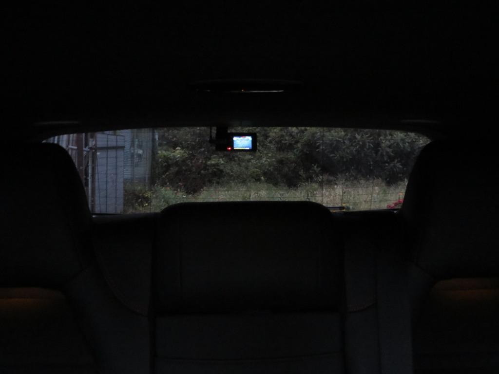 後方用ドライブレコーダーの取り付け